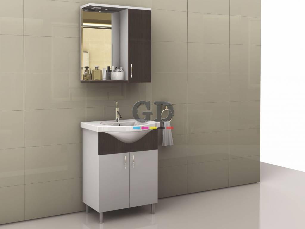 65Cm Üstü Kapaklı Banyo Dolabı