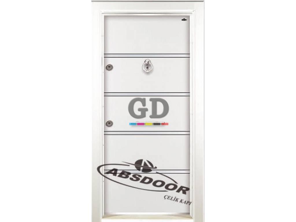 Abs Door 1401 Model Laminoks Serisi Çelik Kapı