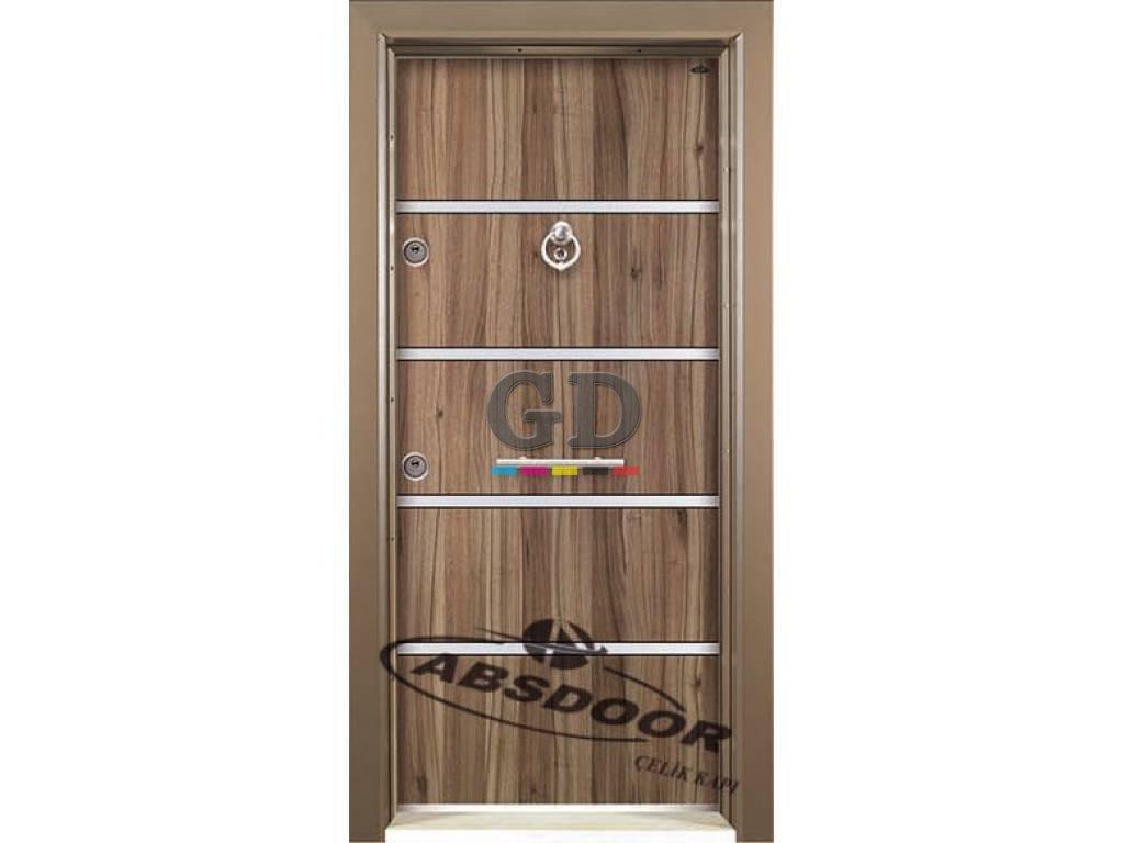 Abs Door 1404 Model Laminoks Serisi Çelik Kapı