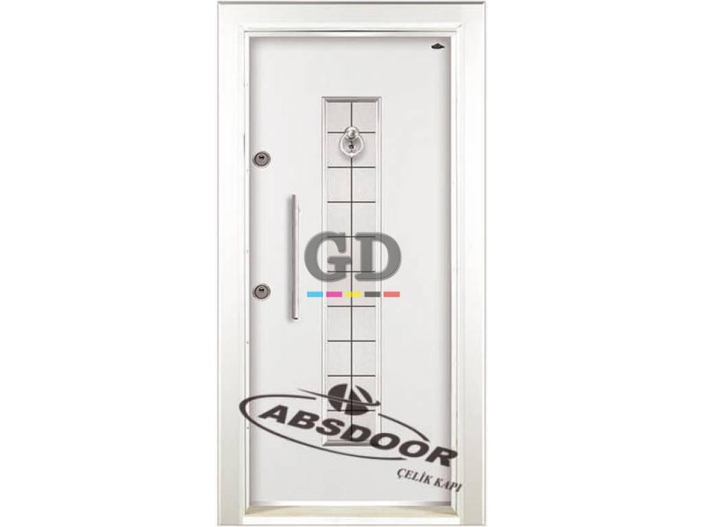 Abs Door 1432 Kabartma Laminoks Serisi Çelik Kapı