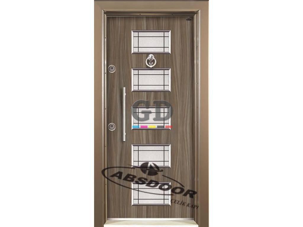 Abs Door 1435 Kabartma Laminoks Serisi Çelik Kapı