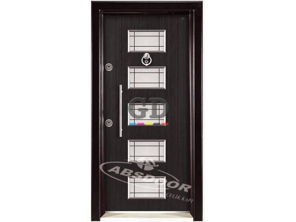Abs Door 1437 Kabartma Laminoks Serisi Çelik Kapı