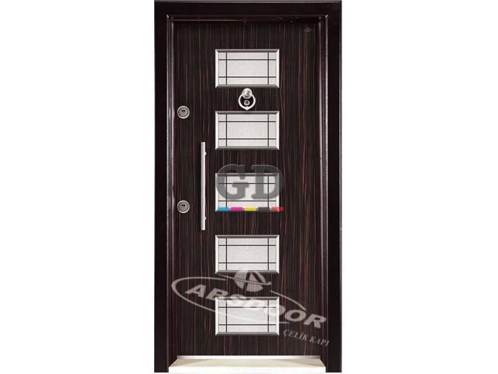 Abs Door 1438 Kabartma Laminoks Serisi Çelik Kapı