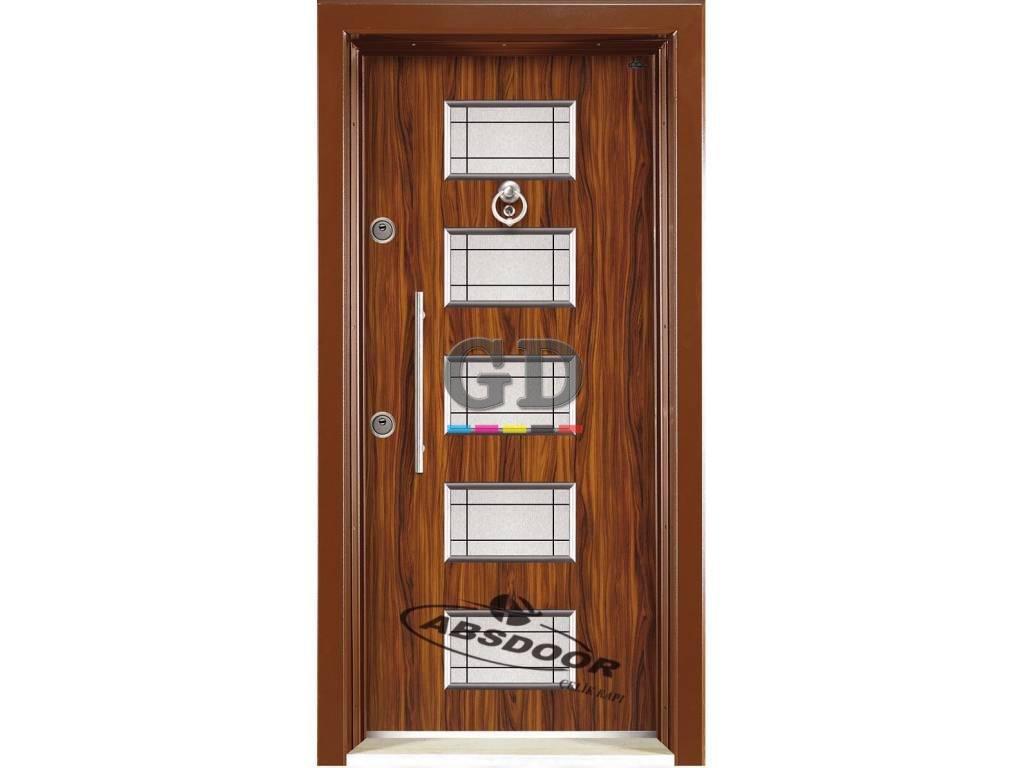 Abs Door 1439 Kabartma Laminoks Serisi Çelik Kapı