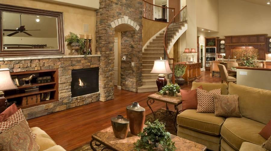 Ev Dekorasyonu Ve Doğal Taş Kalama Fikirleri