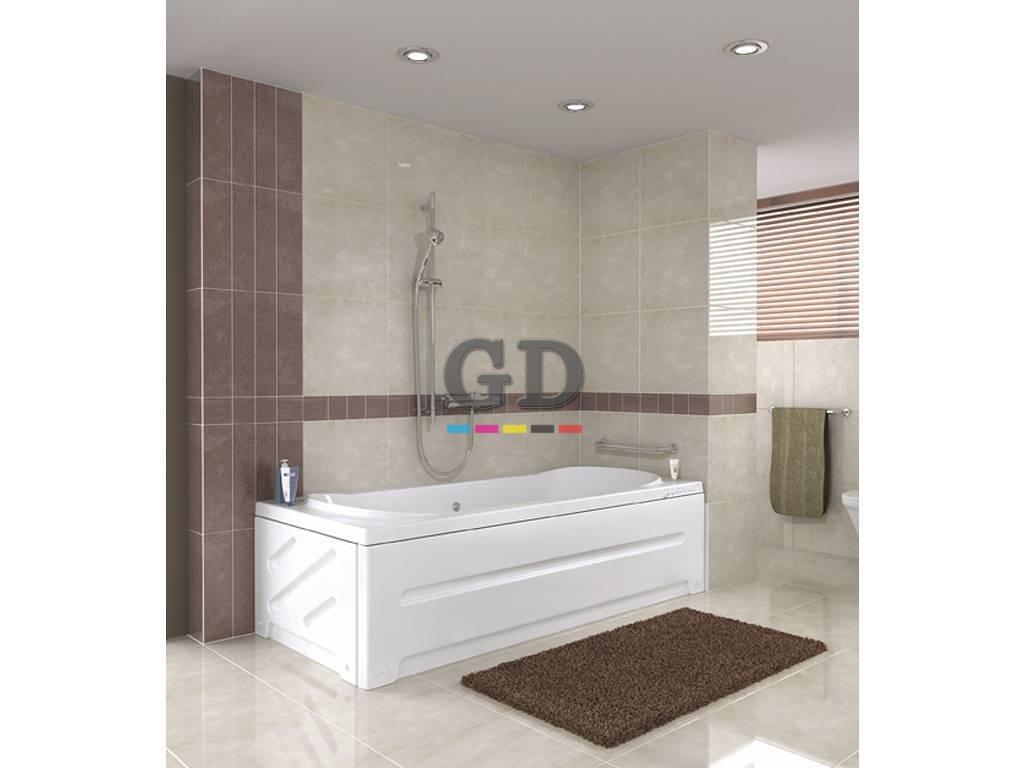 Düz 120Cm X 70Cm Banyo Duş Küveti
