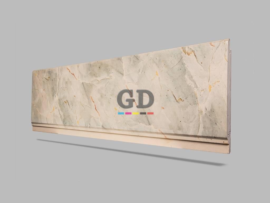 Mermer Desenli Duvar Kaplama Yalıtımı