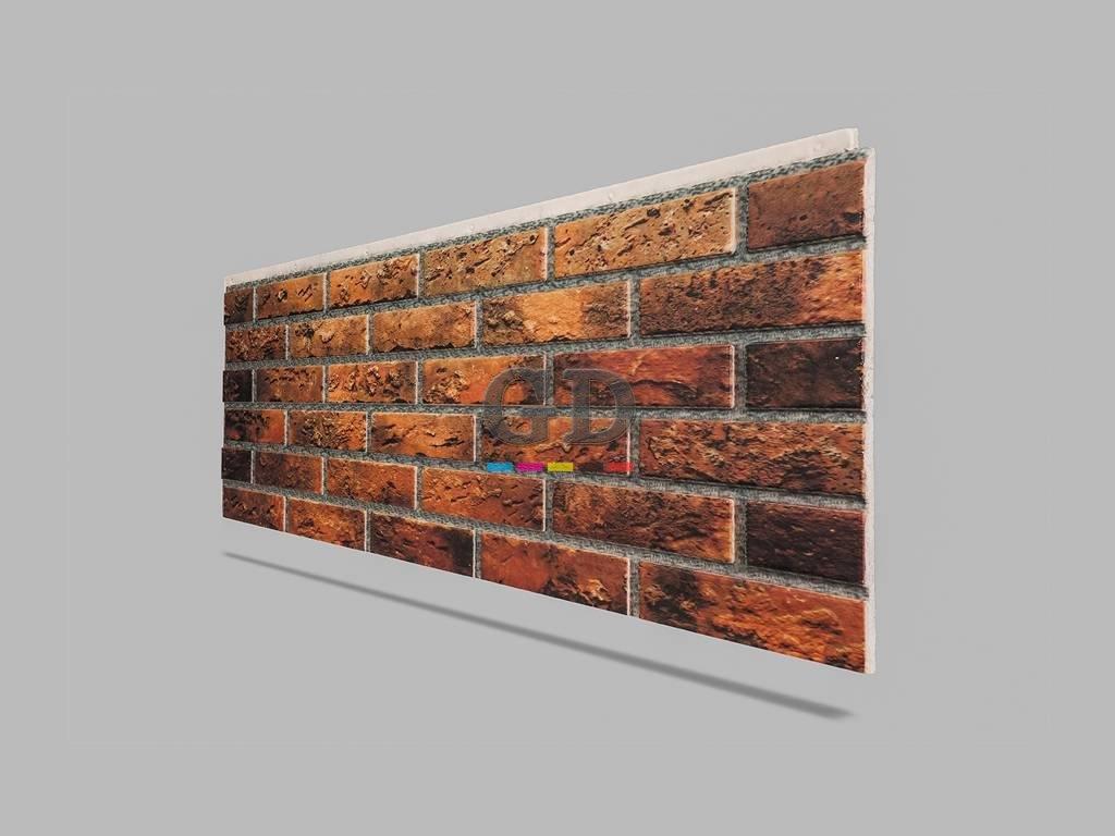 Tuğla Görünümlü Rh 140 5 Duvar Kaplama Paneli