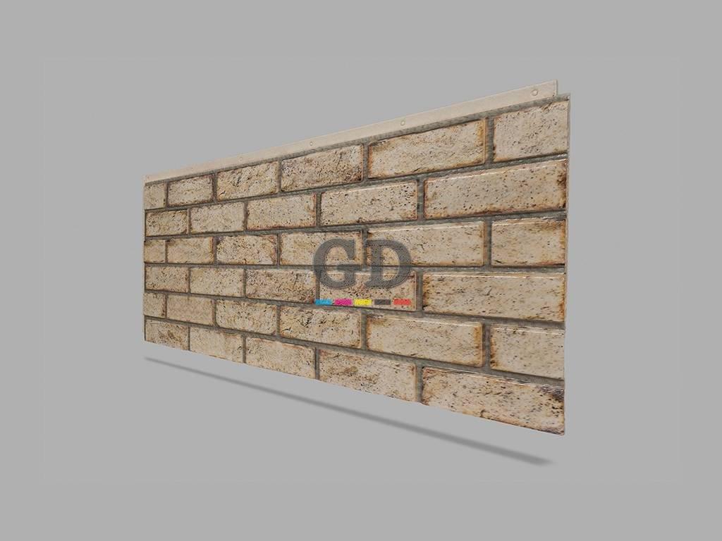 Tuğla Taş Desenli Duvar Yalıtım Paneli