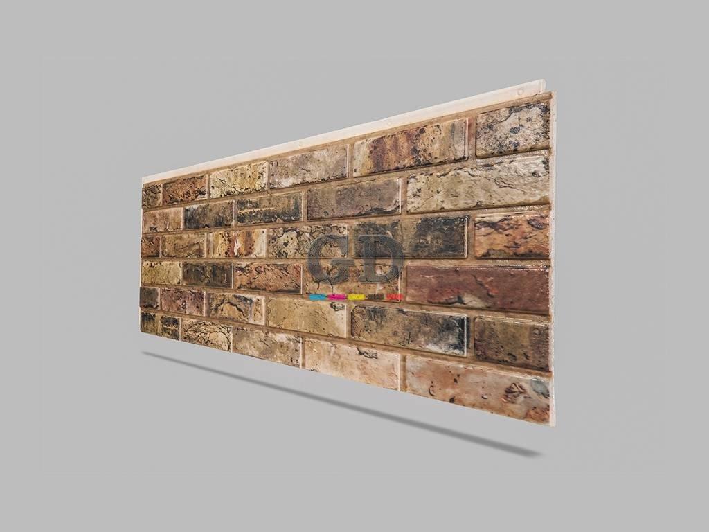 Tuğla Taş Desenli Duvar Yalıtımlı Kaplama