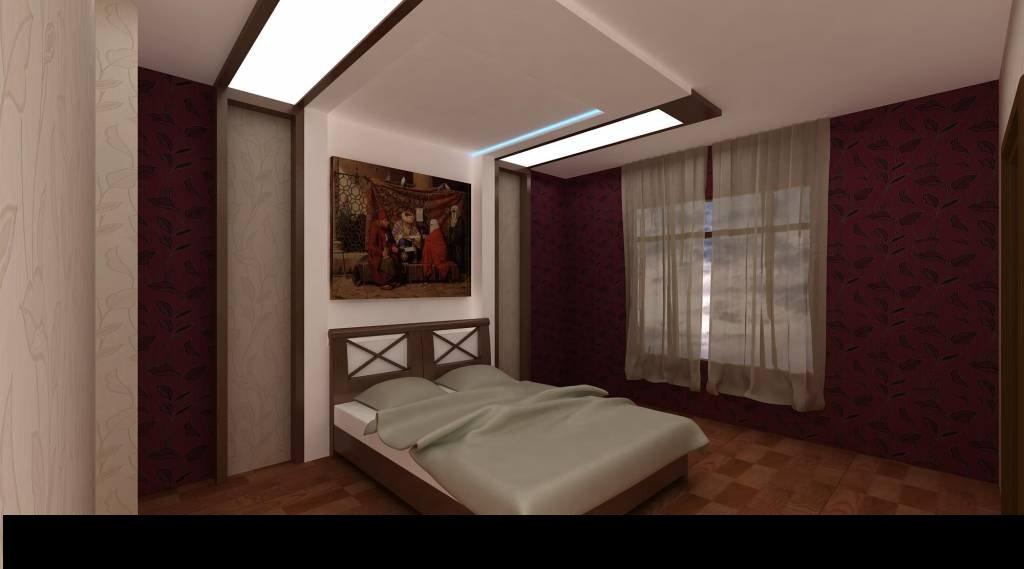 Yatak Odaları Için Işıklı Alçıpan Tavan Fikirleri